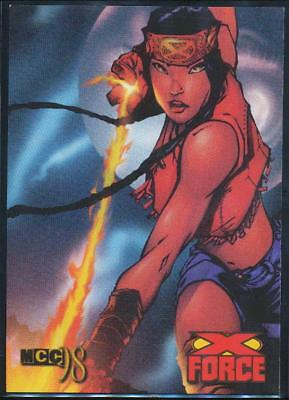 1998 Marvel Creator's Collection Trading Card #44 Moonstar