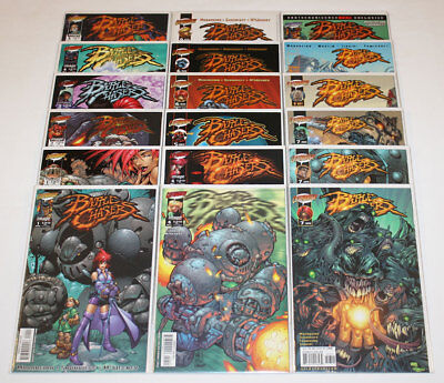 Battle Chasers #1-9 Complete Set + Prelude + Many Variant Covers (Lot of 19)