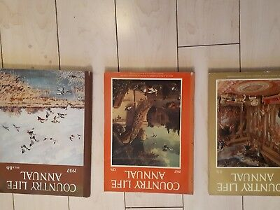 country life magazines  yearly annual  5 pound each