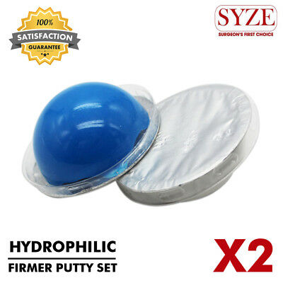 Hydrophilic Firmer Putty Soft Impression Material Dental Restorations 2 Pcs Set