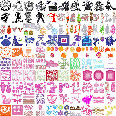 DIY Metal Cutting Dies Stencil Embossing Scrapbooking Album Card Decoration NEW