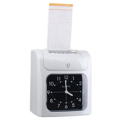 Electronic Employee Analogue Recorder Clock with Card Time Attendance Machine