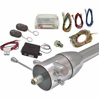 One Touch Engine Start Kit with Column Insert and Remote - Non-Illuminated truck