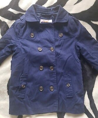 Girls spring navy jacket coat for age 10-12