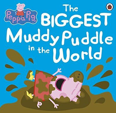 Peppa Pig: The BIGGEST Muddy Puddle in the World  by Ladybird New Paperback Book