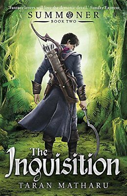 Summoner: The Inquisition: Book 2 by Taran Matharu New Paperback Book