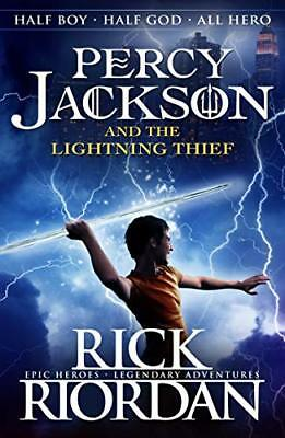Percy Jackson and the Lightning Thief (Book 1 by Rick Riordan New Paperback Book