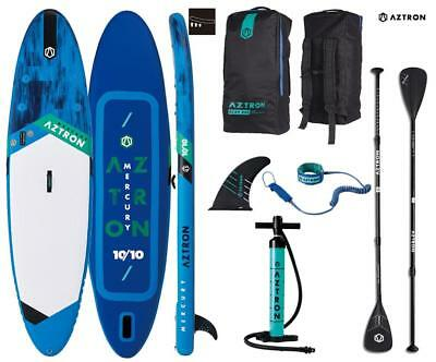 AZTRON MERCURY 10.10 inflatable SUP Stand up Paddle Board Set Angebot