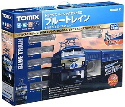 Tomix 90159 Electric Locomotive Type EF66 Blue Train Starter Set (N scale) New