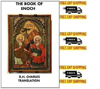 The Book of Enoch: R.H.Charles Translation 0615774334 Prophecies  Paperback NEW