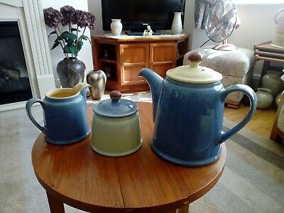 Denby Juice 3 Piece Set Vgc