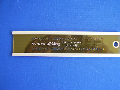 Schriftschablone Rotring 0,25 Art. 320025 DIN 17 micronorm DIN 6775 rOtring