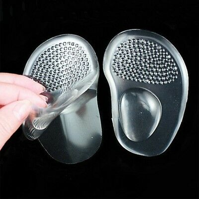 High Heel Ball Metatarsal Comfy Pads Gel 1 Pair Silicone Foot Insoles Cushion