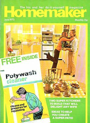 Homemaker Magazine Jun 1973 IDEAS TO CREATE A PATIO SUPER KITCHENS