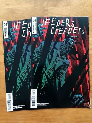 2018 DYNAMITE LOT Of 15 Jeepers Creepers #1-5 Various Covers