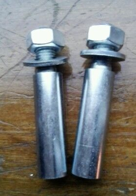 """2 imperial 3/8"""" motorcycle Cotter Pins"""