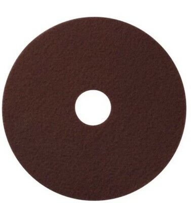 "America Maroon EcoPrep ""EPP"" Chemical Free Stripping Floor Pads 14"" DIA-10/Case"