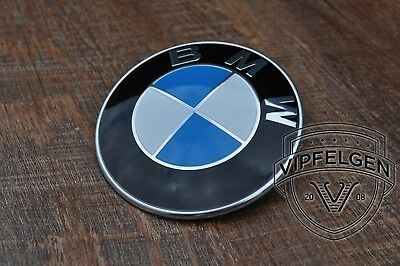 Originale BMW Stemma 1 E81 E82 E87 E88 Placca Cofano 82 Mm 8132375 7463684