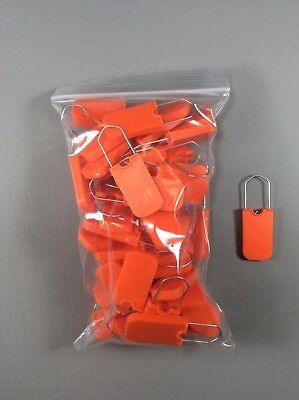 Qty Of 50 Tamper Resistant Security Seals And Tag Equipment Write On Area