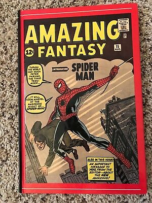 Birth of Amazing Spider-man Hardcover Fantasy 15 1st Appearance Reprint Stan Lee