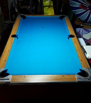 VALLEY COUGAR BAR Size Commercial CoinOperated Pool Table - Bar box pool table size