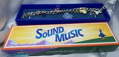 Sound of Music Charm Bracelet - Souvenir from Stage Show as new in Box
