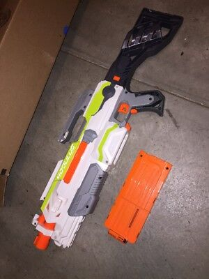NERF N-strike B1538 Modulus ECS-10 Blaster With Custom Stock
