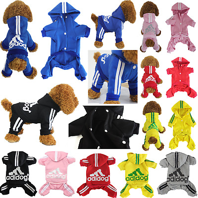 4-Leg Winter Warm Adidog Puppy Hoodie Pet Dog Cat Coat Jacket Clothes Sweatshirt