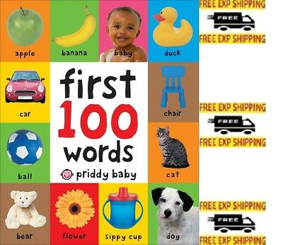 First 100 Words by Roger Priddy (English) (2011) (Board book)