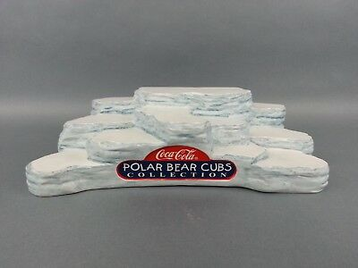 Coca Cola Polar Bear Cubs Stand Base