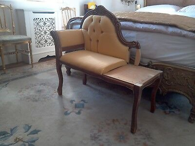 Small Chaise Longue, Up cycle project?