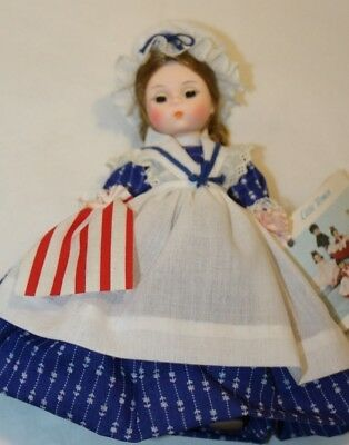 Vintage, Madame Alexander Betsy Ross  Doll/ Storyland Doll Series #431 / 8 Inch