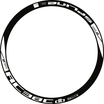RIM DECAL SETS for two wheels DT SWISS SPLINE RC 38C