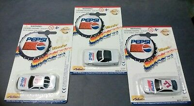 Golden Wheel diecast ( lot of - 3 NIP) PEPSI Cars