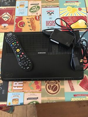 Used Samsung Virgin Media TIVO Box SMT-C7100 With Remote & Power 500GB
