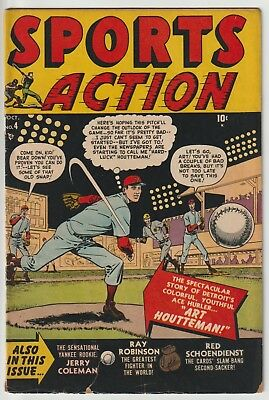 Sports Action #4,marvel/atlas Title,ray Robinson Story,nice Color And Gloss