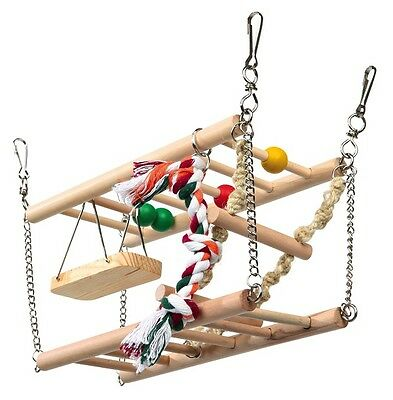 Trixie Hamster/Mouse/ Gerbil Suspension Bridge with 2 Storeys 6273