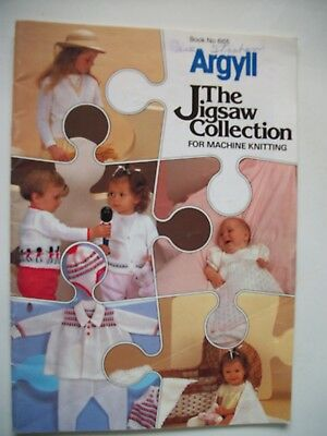Argyll The Jigsaw Collection for Machine Knitting, book #665