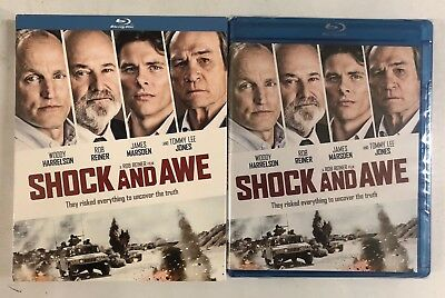 New Sealed Shock And Awe Blu Ray + Slipcover Sleeve Free World Wide Shipping