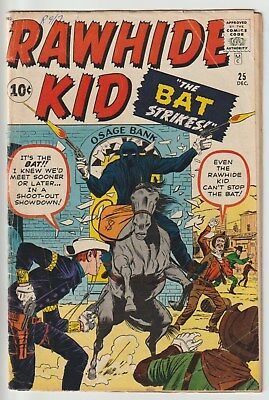 Rawhide Kid #25,kirby,nice Pages,accurate Grading,clean White Cover