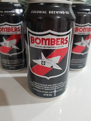 AFL Collectable Bombers Essendon Football Club Beer
