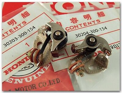 Honda Cb500 Cb550 Cb550K Cb550F Cb750A Cb750F Cb750K Ignition Contact Points Set