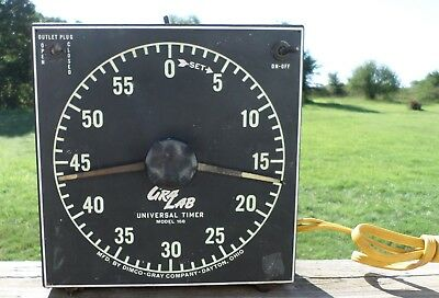 Vintage Dimco-Gray Co. GraLab Model 168 Universal Darkroom Timer