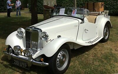 Classic MG TD 1952 Sports Car Great Provenance