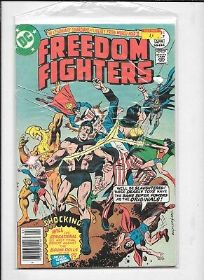 FREEDOM FIGHTER  #7 DC COMICS  COMIC BOOK  99c shipping