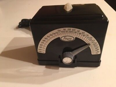 Franz Electric Metronome (Excellent Condition) with Light. Works great !