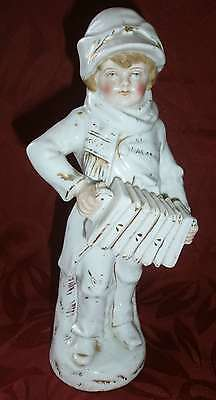 Figurine Ceramique Porcelaine Conta Boehme? Accordeoniste Accordeon Accordionist