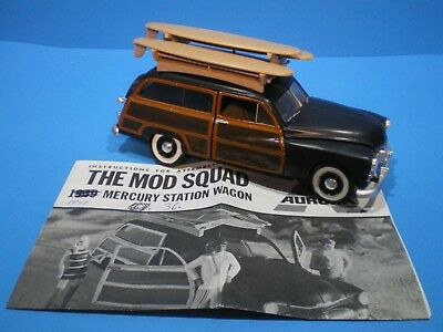 "1950 Mercury Woody ""Mod Squad"" 1/25 scale by Aurora Nicely built model L@@K!"