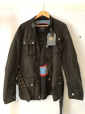 enjoy best price release date latest trends DICKIES MOTORCYCLE OUTFITTERS Wax Jacket, Motorcycle jacket,Not  Barbour,Belstaff