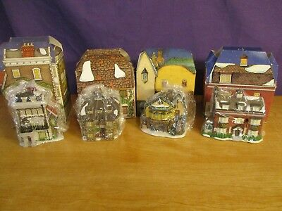 Dept 56 Charles Dickens Collector's Ornaments 1992, 1995-1997 Lot of 4